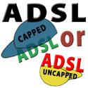 ADSL Caped or Not graphic