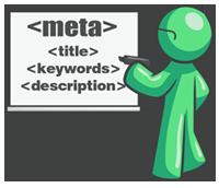 meta tags green man