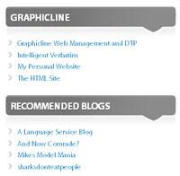 Blog Links Panel