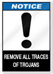 Completely remove trojan