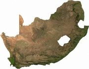 Satelite Image of South Africa