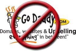 No GoDaddy Logo