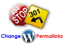 change wordpress permalink structure