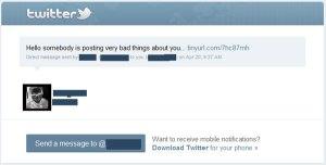 twitter scam tweet graphic