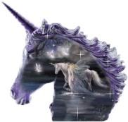 image of unicorn avatar in mystique wordpress theme