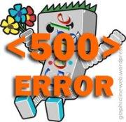 googlebot server 500 error