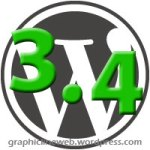 wordpress 3.4 icon