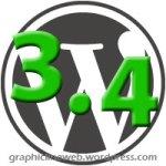 wordpress 3.4 icon