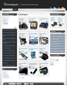 pc shop catalogue screenshot