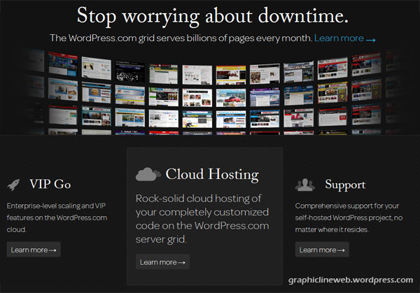wordpress.com vip hosting screenshot
