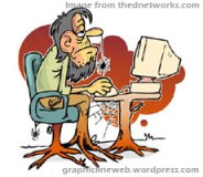 slow website cartoon image