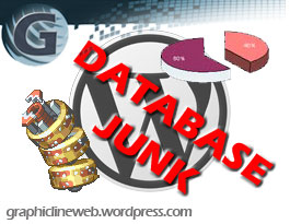wordpress database junk icon