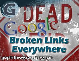 broken links harm website icon